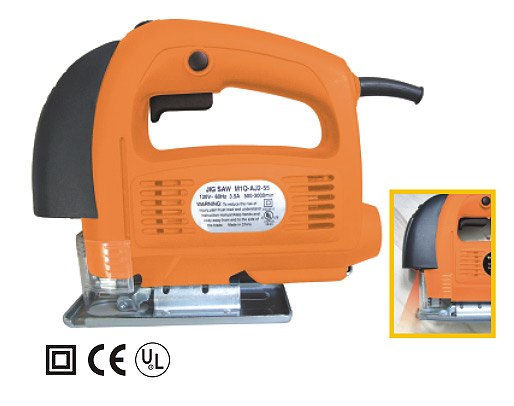 Variable Speed Jig Saw With Laser